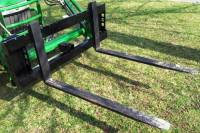 Extreme Metal Products, LLC - Pallet Fork Mount for John Deere Quick Attach