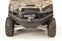 Extreme Metal Products, LLC - Ranger XP900, Full Size Ranger 570, Ranger XP1000 Front Bumper / Brush Guard with Winch Mount
