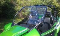 Extreme Metal Products, LLC - Wildcat 1000 DOT Hard Coat Full Windshield