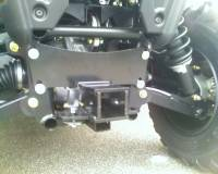 "Extreme Metal Products, LLC - RZR 2"" Receiver Hitch"