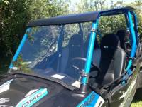 Extreme Metal Products, LLC - RZR XP H.O. Jagged X Edition Hard Coat Full Windshield