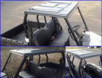 Extreme Metal Products, LLC - Mid-Size Polaris Ranger Plastic Top