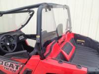 "Extreme Metal Products, LLC - Wildcat Trail (50"" Wide) and Wildcat Sport Polycarbonate Cab Back / Dust Stopper"