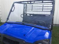 Extreme Metal Products, LLC - Kawasaki MULE PRO-FX/FXT Full Windshield (Hard Coated both Sides)