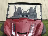 Extreme Metal Products, LLC - Yamaha Wolverine X2 Hardcoated Polycarbonate Windshield with Vent