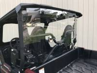 Extreme Metal Products, LLC - Yamaha Wolverine X2 Hardcoated Polycarbonate Cab Back/Dust Stopper