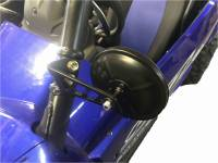 Extreme Metal Products, LLC - Yamaha YXZ Side Mirror Set (sold as a set)