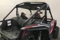Extreme Metal Products, LLC - Honda Talon Cab Back/Dust Stopper with vent (Hard Caoted on Both Sides)