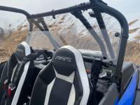 Extreme Metal Products, LLC - RZR Turbo S Hard Coated Cab Back/Rear Panel