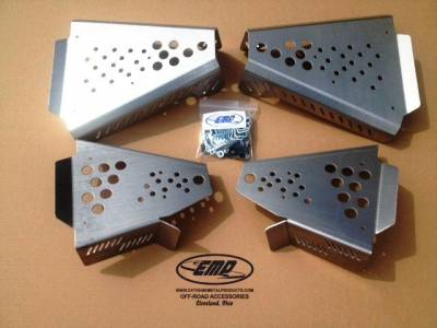 Extreme Metal Products, LLC - Pioneer 700 CV Boot/ A-Arm Guards - Image 1