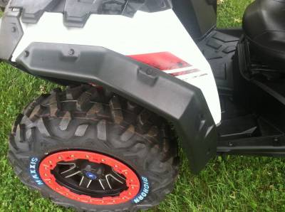 Extreme Metal Products, LLC - Polaris ACE Fender Extensions/Fender Flares