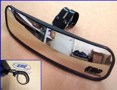 "Extreme Metal Products, LLC - 13"" Wide Panoramic Rear view Mirror for 2"" Bars - Image 1"
