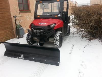 "Mid-Size Ranger 72"" Snow Plow - Image 1"