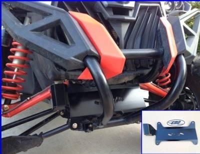 Extreme Metal Products, LLC - Maverick Front Frame Gusset/Radiator Hose Guard