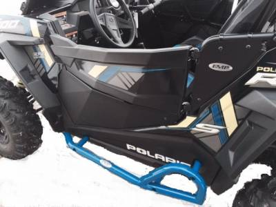 Extreme Metal Products, LLC - RZR Lower Door Panels (Aluminum) with Inner storage pockets