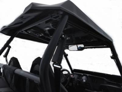 "Extreme Metal Products, LLC - ""Cooter Brown"" RZR Top and Stereo Combo Fits: XP1K, 2016-18 RZR 1000-S and 2015-18 RZR 900 - Image 1"
