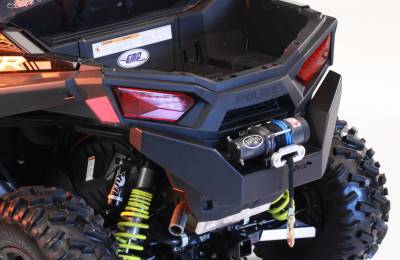 Extreme Metal Products, LLC - 2015-18 RZR 900 Rear Bumper with Winch Mount