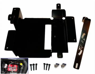 Extreme Metal Products, LLC - Can-Am Maverick X DS (Turbo) Full Size Battery Tray - Image 1
