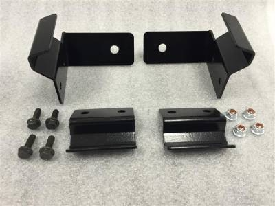 Extreme Metal Products, LLC - Light Bracket for Polaris Ranger PRO-FIT style cage - Image 1