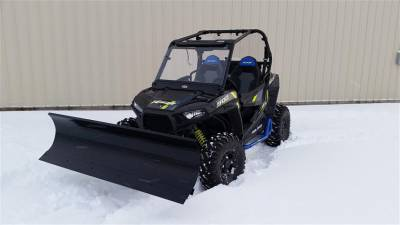 Extreme Metal Products, LLC - RZR/General Snow Plow fits: 2014-18 XP1K, 2015-18 RZR 900-S, 2015-2018 RZR 900 and 2016-18 General - Image 1