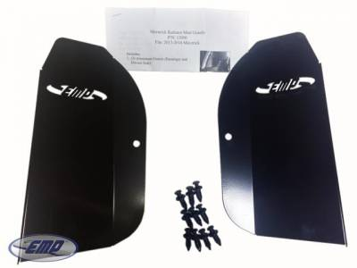 Extreme Metal Products, LLC - Can-Am Maverick Mud Guards for Radiator