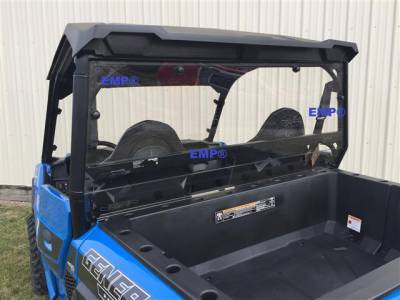 Extreme Metal Products, LLC - Polaris General Cab Back/Dust Stopper - Image 1