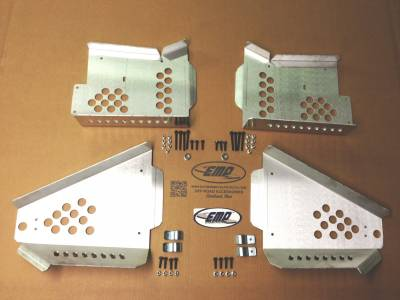 Extreme Metal Products, LLC - Polaris General 1000 CV Boot Guards (Front and Rear)