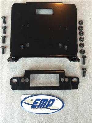 Extreme Metal Products, LLC - Polaris General Winch Mounting Kit - Image 1
