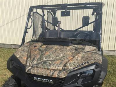 Extreme Metal Products, LLC - Pioneer 1000 and 1000-5 Hard Coated Polycarbonate Windshield - Image 1