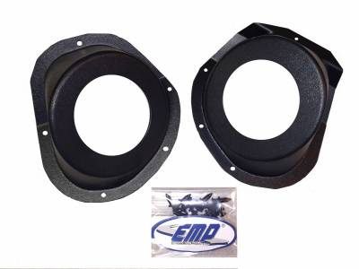 Extreme Metal Products, LLC - Polaris General Under-Dash Speaker Pods (Speakers Not Included)