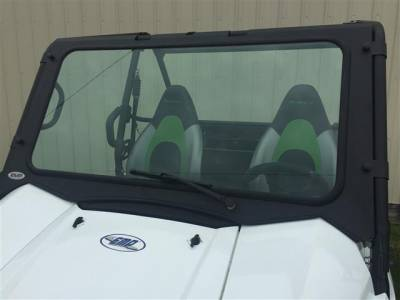 Extreme Metal Products, LLC - 2016-18 Kawasaki Teryx Laminated Glass Windshield