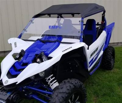 Extreme Metal Products, LLC - Yamaha YXZ Hard Coated Full Windshield - Image 1