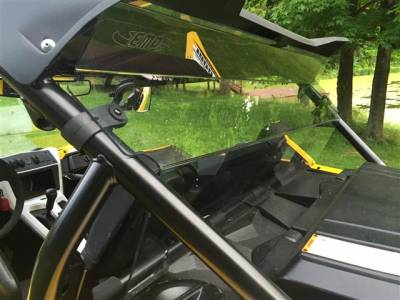 Extreme Metal Products, LLC - Yamaha YXZ Rear Panel/Dust Stopper