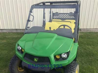 Extreme Metal Products, LLC - John Deere Gator Windshield (Fits: XUV550/XUV550 S4, XUV560/XUV560 S4, XUV690i/XUV 590i S4) - Image 1