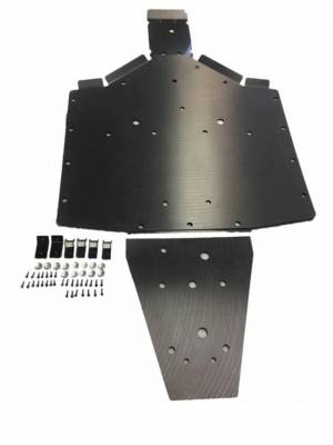 Extreme Metal Products, LLC - RZR UHMW Skid Plates (RZR 900, RZR 55/60, RZR 900-S and RZR 1000-S)