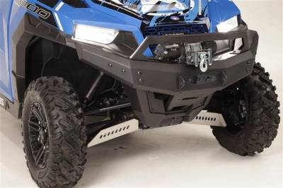 Extreme Metal Products, LLC - Polaris General Front Brush Guard with Winch Mount