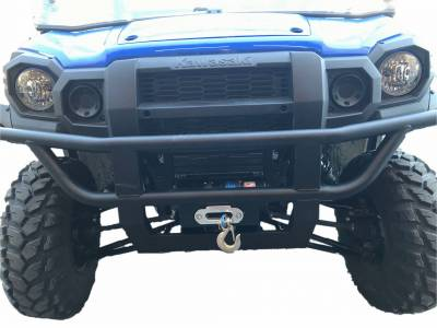 Extreme Metal Products, LLC - Kawasaki MULE PRO-FX/FXT Winch Mount - Image 1