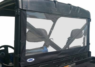 Extreme Metal Products, LLC - Polaris Ranger Rear Dust Stopper (Fits: FULL Size Ranger with PRO-FIT Cage)