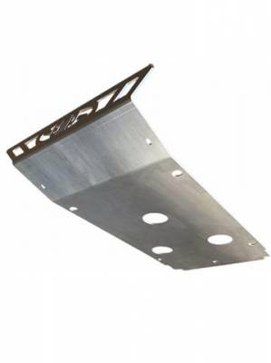 Extreme Metal Products, LLC - Kawasaki Teryx Front Replacement Skid Plate-Aluminum