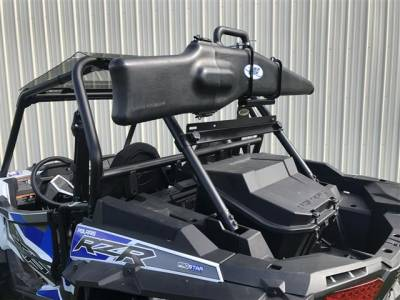 Extreme Metal Products, LLC - Polaris RZR Gun Boot and Rack - Image 1