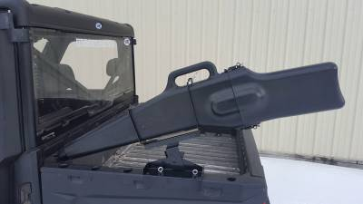 Extreme Metal Products, LLC - Polaris Ranger Gun Boot and Rack.