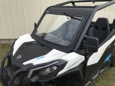 Extreme Metal Products, LLC - Can-Am Maverick Trail Laminated Glass Windshield