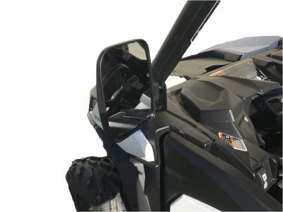 Extreme Metal Products, LLC - Can-Am Maverick Trail Folding Side Mirrors