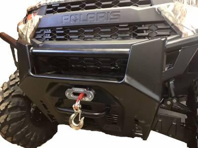 Extreme Metal Products, LLC - Polaris Ranger XP1000 Winch Mounting Plate