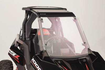 Extreme Metal Products, LLC - Polaris RS1 Full Windshield (Hard Coated on both sides) - Image 1