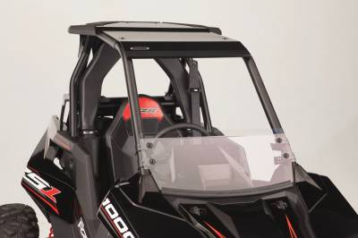 Extreme Metal Products, LLC - Polaris RS1 Half Windshield/Wind Deflector (Hard Coated on both sides) - Image 1
