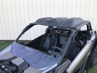 Extreme Metal Products, LLC - Can-Am Maverick X3 Half Windshield - Image 1