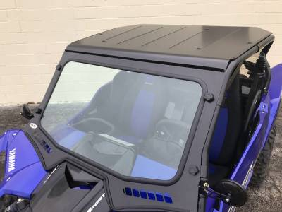 Extreme Metal Products, LLC - 2019 Yamaha YXZ Laminated Glass Windshield - Image 1