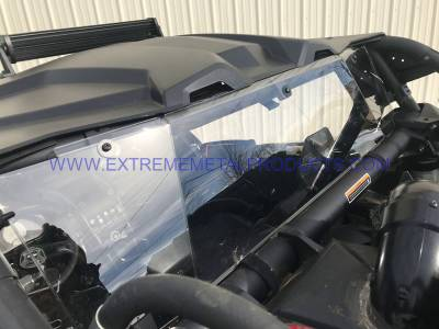 Extreme Metal Products, LLC - Can-Am Maverick X3 Poly Roof, Windshield and Cab back combo - Image 1