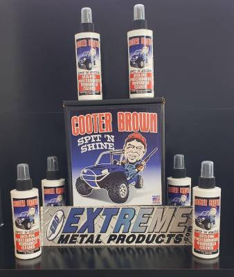 Extreme Metal Products, LLC - UTV Windshield Cleaner for Polycarbonate Windshields - Image 1